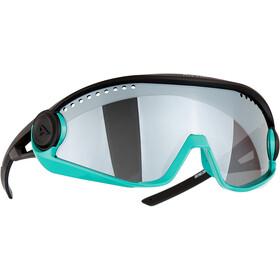Alpina 5W1NG CM+ Glasses, negro/Turquesa